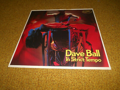 Dave Ball Vinyl In Strict Tempo U K First Press in Mint -