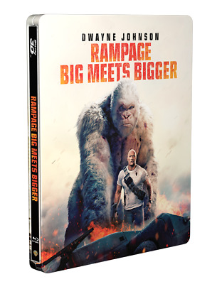 Rampage 3D (4000 ONLY HMV Exclusive Limited Edition Blu-ray Steelbook) [UK]