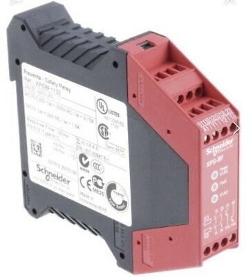 Telemecanique Preventa Safety Relay. Type XPS-BF 1 Or 2 Channel.24VDC. Din Rail