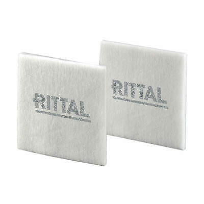 RITTAL Synthetic Fiber Fine Filter Mat,8.7in.Lx0.47in.W,PK5, 3182100