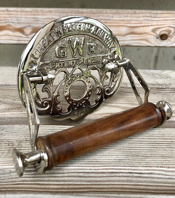 Toilet Roll Holder Novelty Vintage Retro GREAT WESTERN RAILWAY (GWR) Nickel
