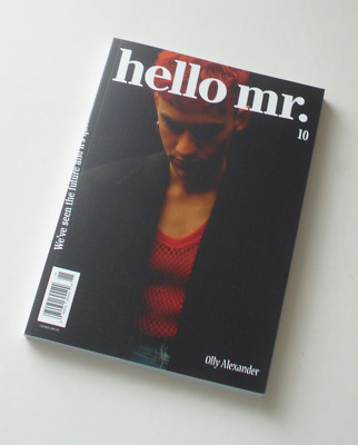 Hello Mr #10 Olly Alexander final issue Gay interest New +Dyke Queen zine LBGT