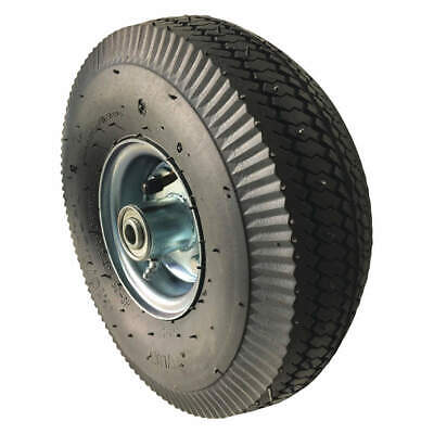 MARASTAR 26W995 Pneumatic Wheel,6 in Dia.,200 lb.