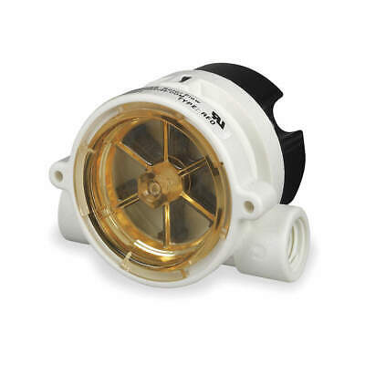 GEMS SENSORS Flow Rate Monitor,Rotor,5 GPM Max, RFO  155421