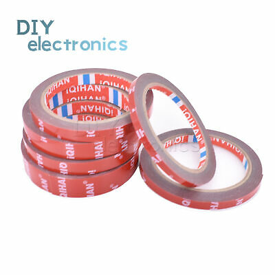 3M Strong Permanent Double-Sided Adhesive Glue Tape Super Sticky Red Liner US