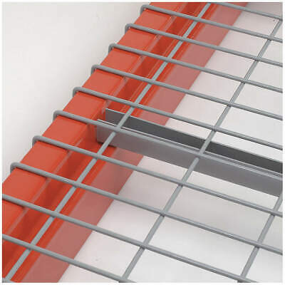 """NASHVILLE WIRE Decking,SteelWire,Pwdr Coat,46""""W,42""""D, D4246BB3A1, Gray"""