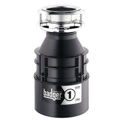 IN-SINK-ERATOR Garbage Disposal,Badger 1,1/3 HP, BADGER 1 WITH CORD