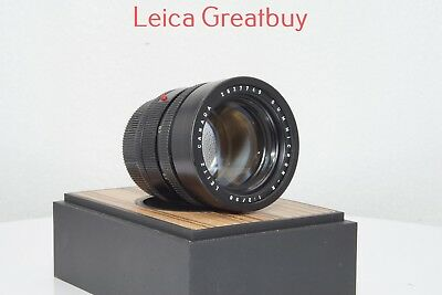 "Leica SUMMICRON-R 90mm f/2 MF 3 Cam Lens #2627749 ""Excellent Optics"""