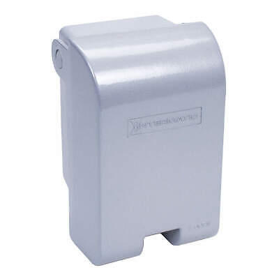 INTERMATIC While In Use Weatherproof Cover,Vertical, WP1010MXD, Gray