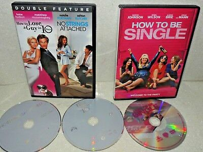3 dvd lot 673 how to lose a guy in 10 days charlie st cloud how to lose a guy in 10 days no strings attached how to be single ccuart Images