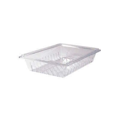 RUBBERMAID COMMERCIA Co-Polyester Colander/Drain Tray, Clear, FG330300CLR, Clear