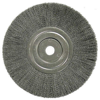 WEILER Wire Wheel Brush,8In,6000RPM, 01148