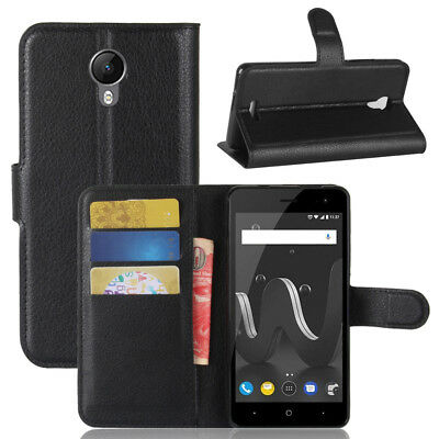 For Wiko jerry 2, Luxury Flip Leather Wallet Stand Case Card Shockproof Cover