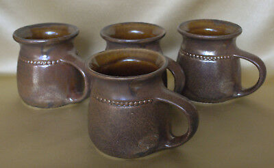 4 x BENDIGO POTTERY MUGS - Excellent condition