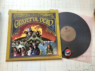Grateful Dead LP self titled 1st gold lbl ws1689 debut jerry garcia sticker '69!