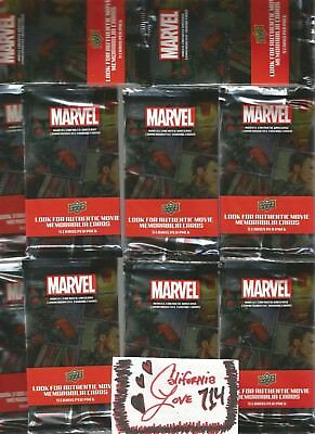 Marvel Avengers (30) Packs = 150 Cards Upper Deck Thor Iron Man Ant-Man ✔☆New☆✔