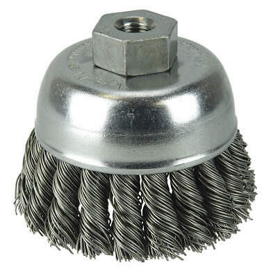 WEILER Crimped Wire Cup Brush,2-3/4 In., 96272
