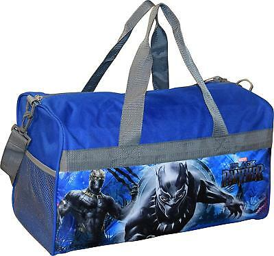Marvel Black Panther Boys Duffel bag Sleep Over Night Travel carry on Gym Kids
