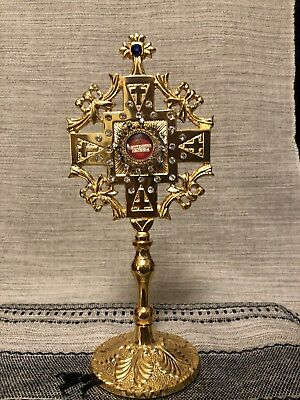 True Cross Reliquary And Relic. Catholic,  Vestment