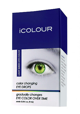 iCOLOUR Color Changing Eye Drops - Change Your Naturally - 1 Month Supply - 9 mL