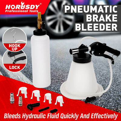 Air Brake Fluid Bleeder Kit Pneumatic Vacuum Clutch Bleeding Extractor Refill