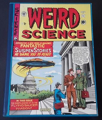 EC comics The Complete WEIRD SCIENCE 4 Volume Boxed Set with slipcase