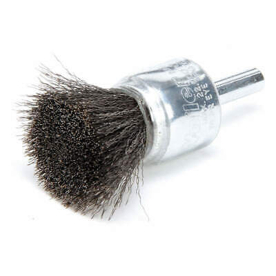 WEILER Crimped Wire End Brush,Coated Steel, 96112