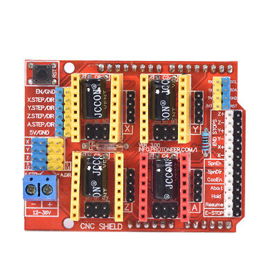 V 3.0 Engraver CNC Shield+Board+A4988 Stepper Motor Driver For  R3 Arduino TH