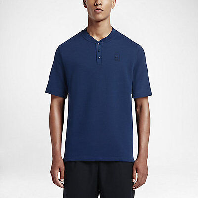 Nike Court Polo - blue  in adult S