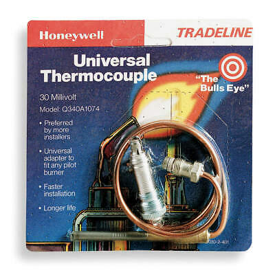 HONEYWELL Thermocouple,24 In, Q340A1074