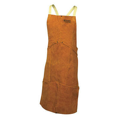 LINCOLN ELECTRIC Welding Waist Apron,Leather,45 in. L, KH804