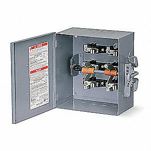 SQUARE D Safety Switch,240VAC,3PDT,200 Amps AC, 82354