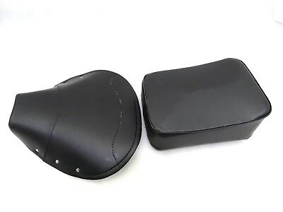 New Brand Vespa Vbb,Super,Px,Rally Front And Rear Seat Cover Set Black