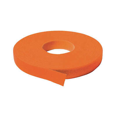 VELCRO BRAND ONE-WRAP Self Gripping Strap,3/4x37ft 6,Orange, 176067, Orange