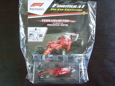 Formula 1 The Car Collection Part 62 Ferrari SF70H 2017 Sebastian Vettel