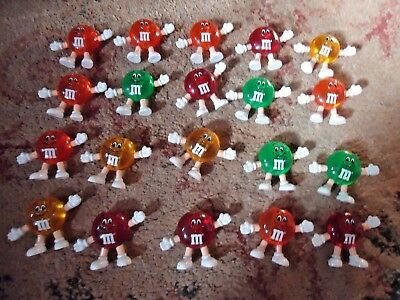 Vintage M&M Lights Set String 20 Light Covers Christmas/Patio/Party