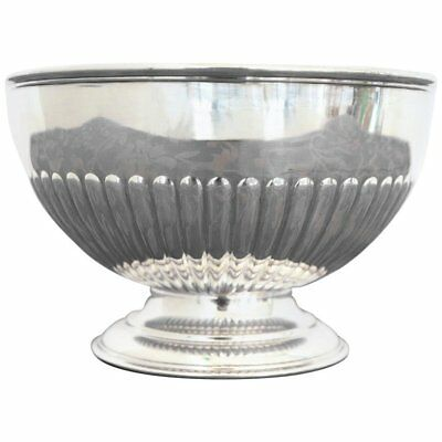 20th Century English Antique Silver City of Sheffield Edward VII Bowl, 1903s