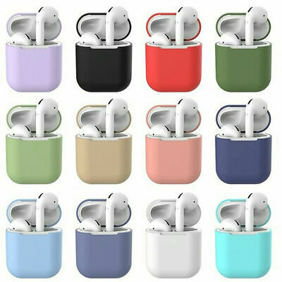AirPods Accessory Case Protective Silicone Cover Skin Strap For Apple Air Pods