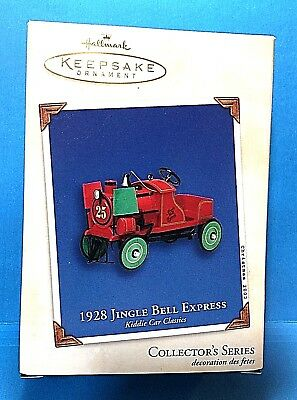 "Hallmark Keepsake ""1928 Jingle Bell Express"" Ornament 2002"