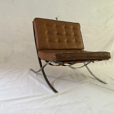 ViNTaGE EaRLY 1950u0027S MiES VaN DeR RoHE INDuSTRiA ARgENTiNA BARCeLONA CHAiR