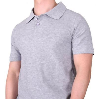 Back To School Sport Or Work Men's Or Boys Basic Collar Short Sleeve Polo Shirts