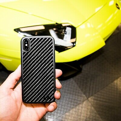 Real Carbon Fibre Case For Apple iPhone Luxury Ultra Slim Line Protective Bumper