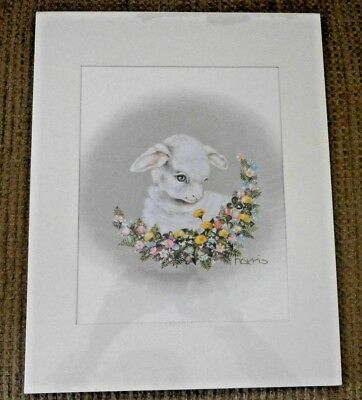 "Peggy Harris Collectibles 11 X 14"" Lithograph Picture 'everything Is Beautiful'"