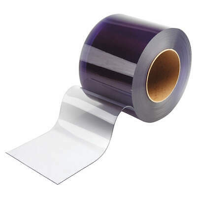TMI Flexible Bulk Rolls,Smooth,8in,Clear,PVC, 999-00117