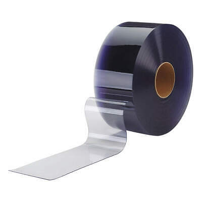 TMI Flexible Bulk Rolls,Smooth,6in,Clear,PVC, 999-00115