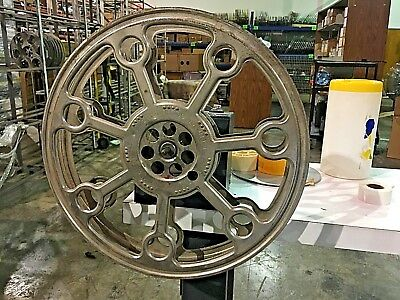 "Vintage 15"" Fulco 2000' 35mm Motion Picture House Reel"