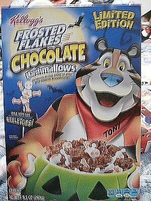 Kellogg's Frosted Flakes Chocolate cereal w/Marshmallows, LE Halloween, 9.5oz