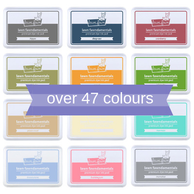 Lawn Fawn Ink Pads - Acid-Free Fast-Drying Dye Based Ink - Choose Yr Colours