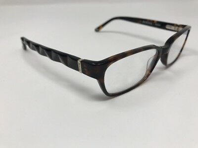 BULOVA EYEGLASSES MASSY 53-16-135 Tortoise Rectangular Flexed Hinges ...
