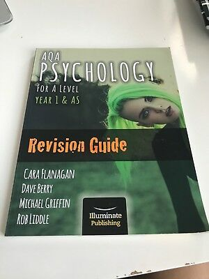 Year 1/AS AQA Psychology Revision Guide